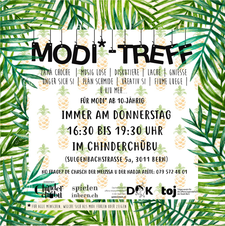 Flyer Modi Angebot